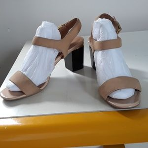 Calvin Klein nude sandals